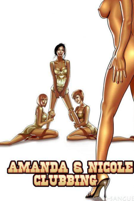 Incesto – Amanda e nicole fazendo sexo neste HQ amador