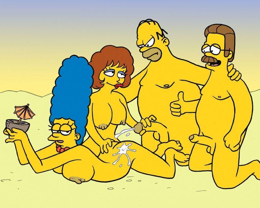 Simpsons – Sexo e putaria na praia