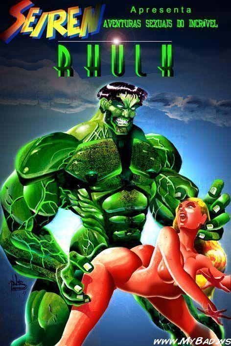 Hulk fazendo sexo – HQ pornô