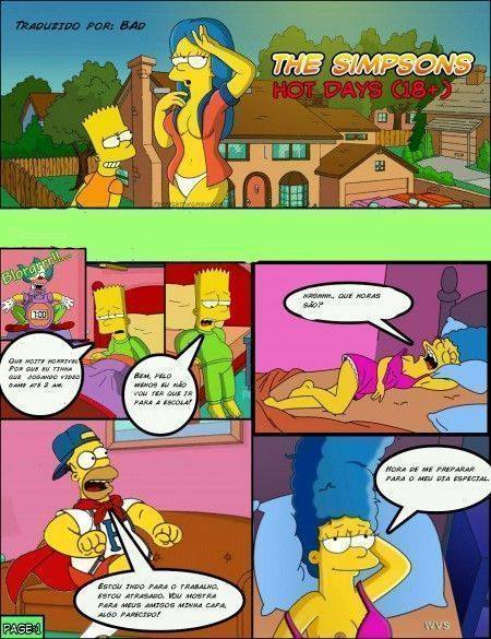 Dias de Calor – Simpsons
