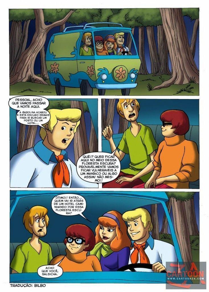 Suruba da turma do Scooby Doo