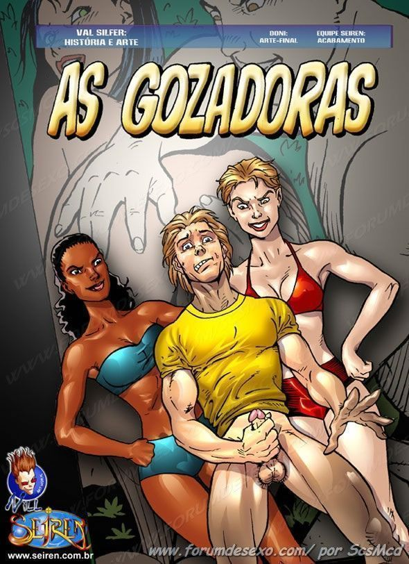 HQ Pornô: As Gozadoras – Suruba