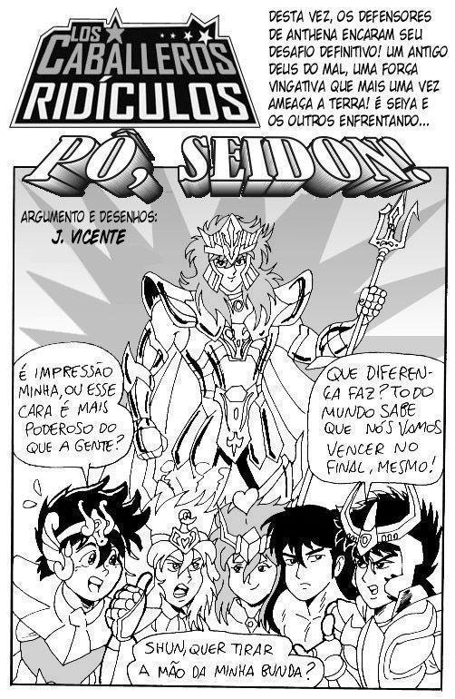 Hentai dos Cavaleiros do Zodíaco – Muito Sexo